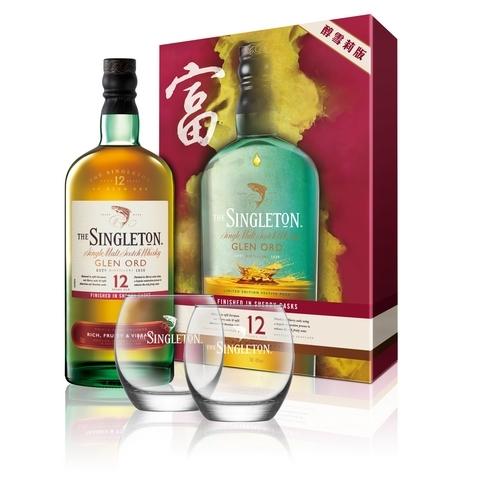蘇格登12年單一麥芽威士忌禮盒 醇雪莉版 NT.1,400