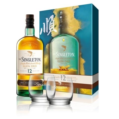 蘇格登12年單一麥芽威士忌禮盒 NT.1,310