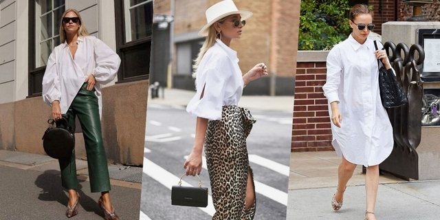 白襯衫這樣穿一點也不無聊!偷學潮人的5種穿搭攻略,一秒晉升時髦咖