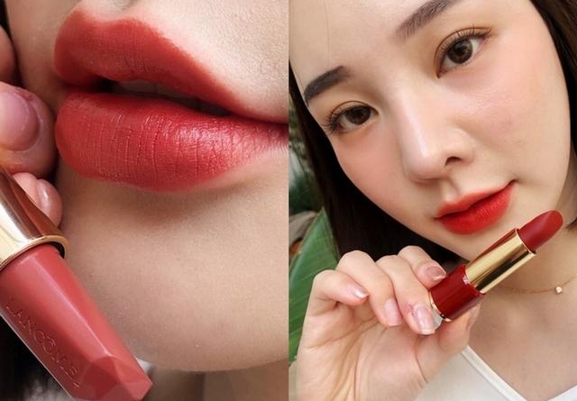 這個唇膏是絕美!蘭蔻推出「天鵝絨唇膏」,真的美爆了,最美泰奶色#274、赤茶棕橘 #196,必收