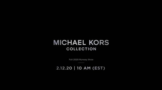 Michael Kors  2020 秋冬紐約時裝直播大秀看這邊!