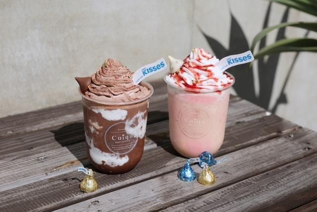 草莓巧酥冰沙 160元