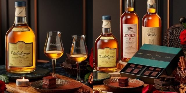 每口都嘗得到酒香!帝亞吉歐聯手畬室推出「高地威士忌巧克力夾心禮盒」4款頂級威士忌作餡,展現奢華大人味