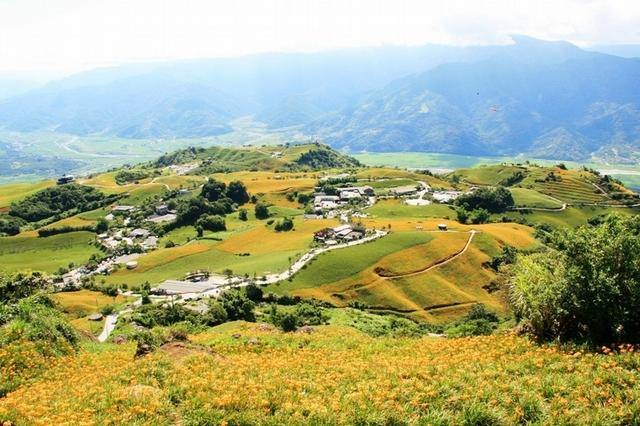 3.東部景點:六十石山(金針花:8~9月)