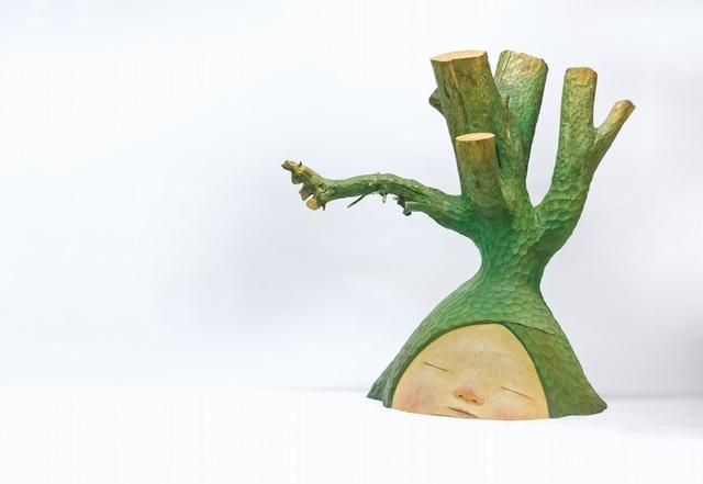 用雕刻刀譜寫森林之歌
