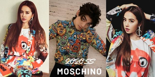 誰說穿搭一定要中規中矩?蔡依林、林哲熹演繹MOSCHINO塗鴉裝扮,幽默設計超有趣