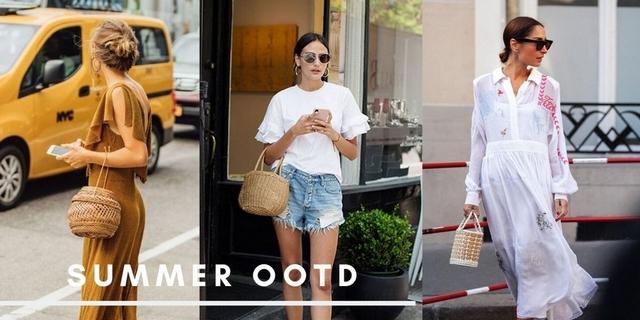 度假沒有草編包說不過去呀!精選10+款編織包,入手一咖完整你的夏天時尚