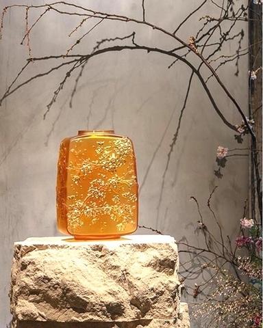 櫻花報喜 花瓶