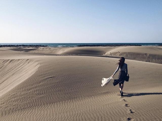 2. 撒哈拉沙漠美照這裡拍-台南「頂頭額沙洲」