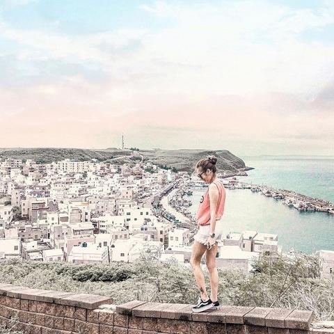 1. 重現希臘愛琴海的小漁村-澎湖「外垵漁港」