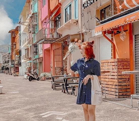 4. 威尼斯感的繽紛小屋-基隆「正濱漁港」