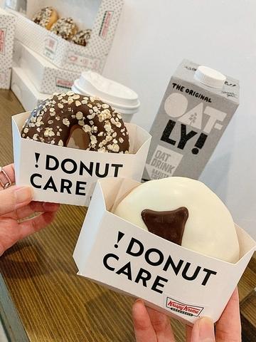 Krispy Kreme—OATLY燕麥卡士達夾心 65元