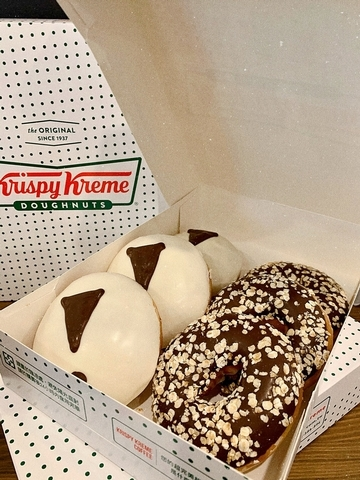 Krispy Kreme—OATLY燕麥片黑巧克力 65元
