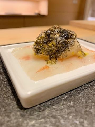 3. 牡丹蝦義式薄切