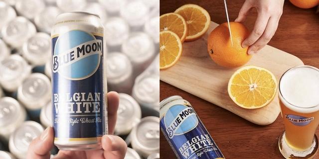 Blue Moon藍月啤酒熱賣中!「果香白啤酒+柳橙切片」達人喝法這裡看,宅在家也能開趴踢了~