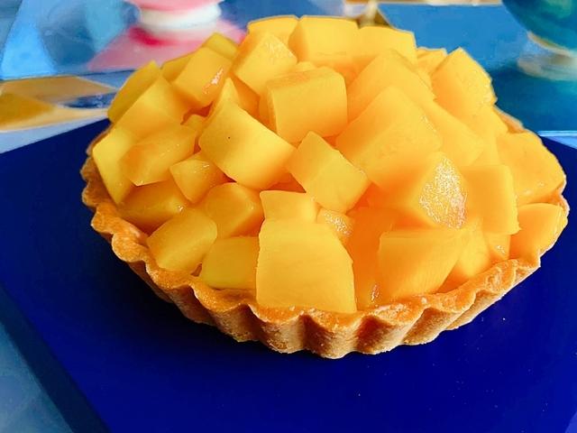 北海道乳酪芒果派 650元