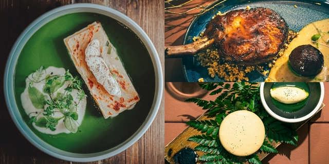 The Tavernist新菜色帶你舌尖旅行!汲取「屏東泰武鄉、寧夏夜市」在地料理元素,把蔥油餅、豬血糕化作頂級佳餚