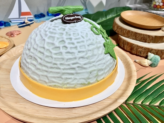 哈密瓜芒果冰淇淋蛋糕 2,180元(7 英吋)