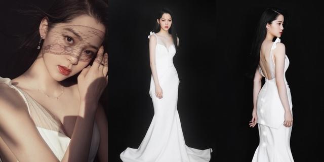 歐陽娜娜全創作演唱轉大人 披白紗花落索尼音樂