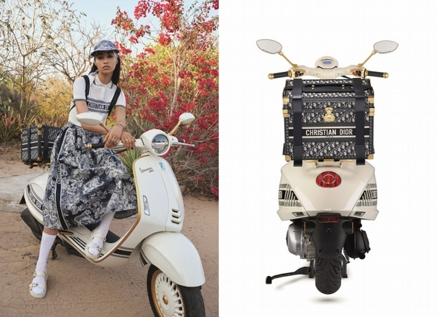 Dior X Vespa聯名摩托車開賣啦!要價近百萬最夢幻車款誕生