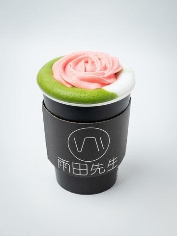 凡爾賽玫瑰抹茶牛奶(熱飲限定)