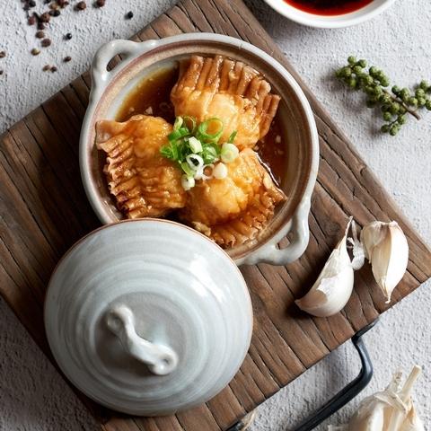 麻辣鮮蝦餃 160元(3入)