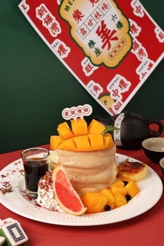 芒果奶茶舒芙蕾 290元