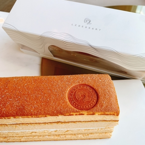 L.Z.黃金蜂蜜蛋糕 320元