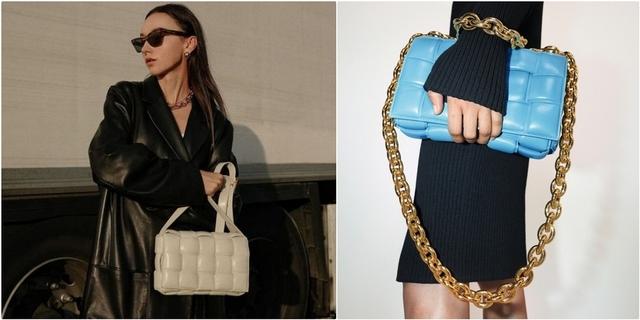 又來燒大家了!Bottega Veneta爆款卡帶包加入金鍊設計太帥,絕對是下個IT BAG