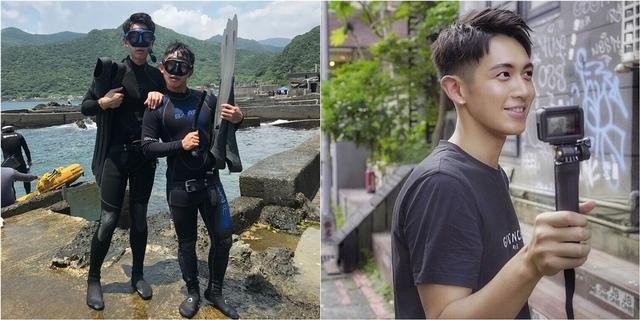 柯震東首當YouTuber挑戰自潛! 揪蔡昌憲開黃腔笑噴「全都不能用啦」