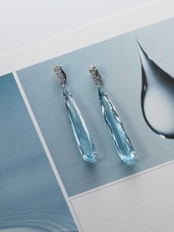 戴上力量的信息——海水藍寶Aquamarine