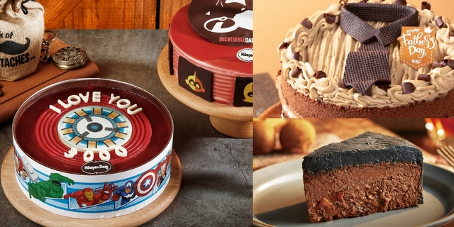 2020父親節蛋糕推薦!漫威英雄造型、威士忌風味8款蛋糕超強大,表達感謝心意就靠它