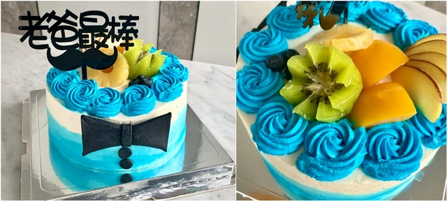 Postre波絲甜手作烘焙坊:父親節蛋糕(880元)