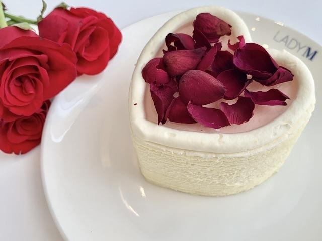 玫瑰千層蛋糕