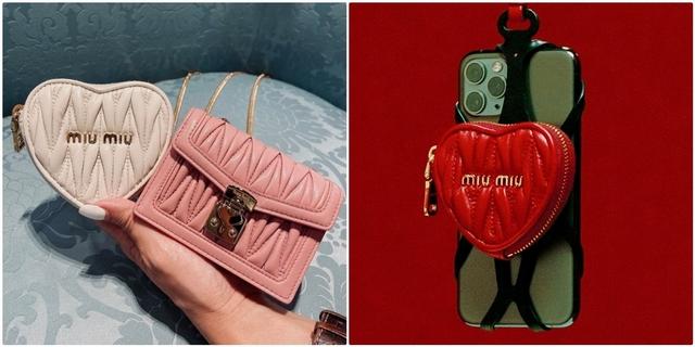 情人節送上一顆愛心吧!Miu Miu七夕愛心手機殼、心形小包實在太浪漫