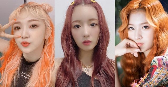 一換上這髮色就超顯白!2020夏季必備「奶油粉橘」、「玫瑰橘橙」、「美人魚橘紅」讓你性感又有活力