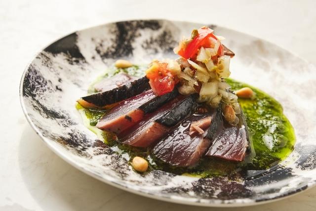 青醬鰹魚 120元