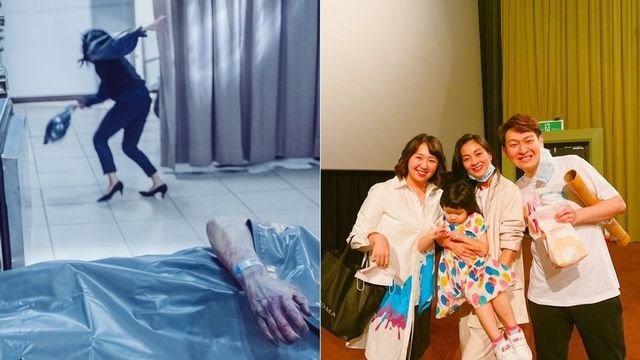 《粽邪2》陳雪甄中邪演技嚇壞家人!  顏正國首演恐怖片躺著賺
