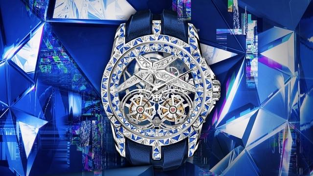 搶先曝光,就是要瘋狂!羅杰杜彼逾2700萬Excalibur Superbia驚豔上海「鐘錶與奇蹟」高級鐘錶展