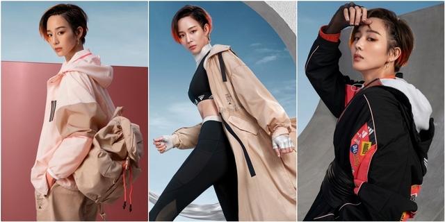 女神這麼帥可以嗎?張鈞甯示範adidas風衣外套3種穿搭推薦,秋季絕對要入手一件