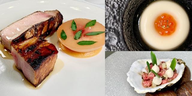 約會選這必加分!信義安和「Orchid Restaurant蘭」晚夏菜單推薦,混融水蜜桃、梨子創造沁涼佳餚
