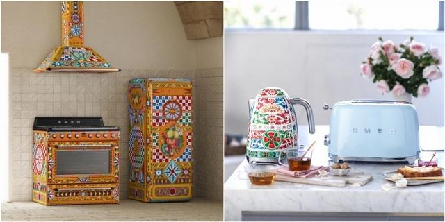 與時尚設計師合作美翻了!Smeg與 Dolce&Gabbana聯名復古家電限量登場