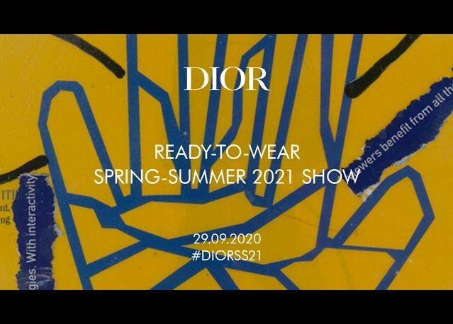 DIOR 2021 春夏時裝系列大秀臨時差直播