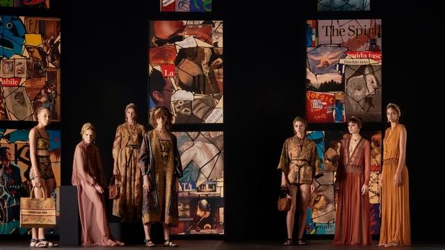 Dior 2021春夏系列 新迪奧風貌的拼貼美學