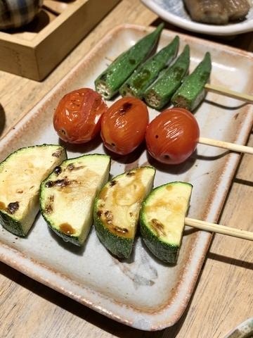 櫛瓜、番茄、秋葵