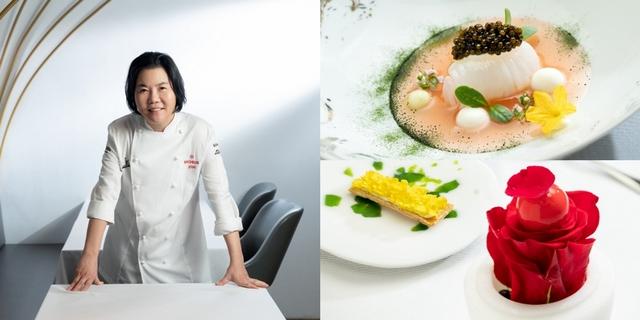 法餐中的剛柔之魄1米其林首位摘星女廚黎俞君,以時光淬鍊風味獨獻「鹽之華」限定主廚套餐