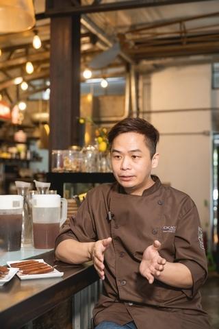 可可德歐創辦人兼巧克力工匠 闕國祥