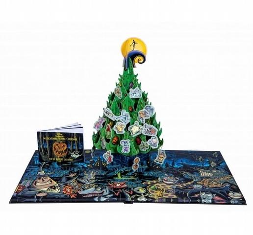 《聖誕夜驚魂》聖誕倒數立體日曆 1,400元