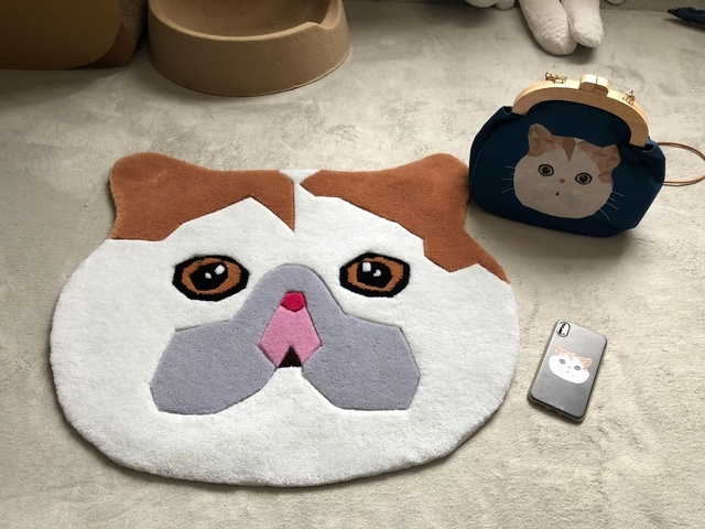 ZoO By Shu 貓咪毛茸茸地毯 1,279元