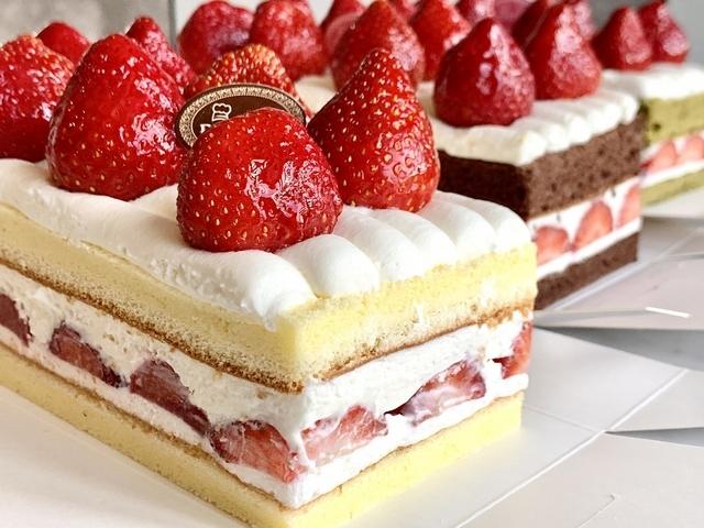 原味草莓生乳蛋糕 490元